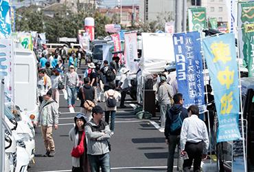 入場無料のキャンピングカーの祭典「神奈川キャンピングカーフェア」が熱い