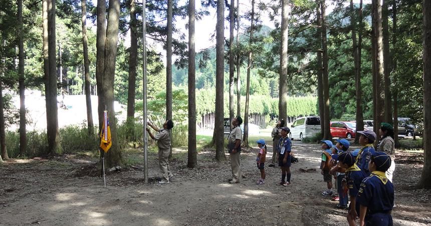 静原キャンプ場