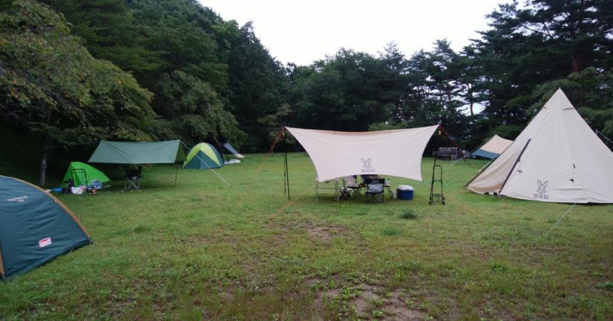 遠刈田公園キャンプ場