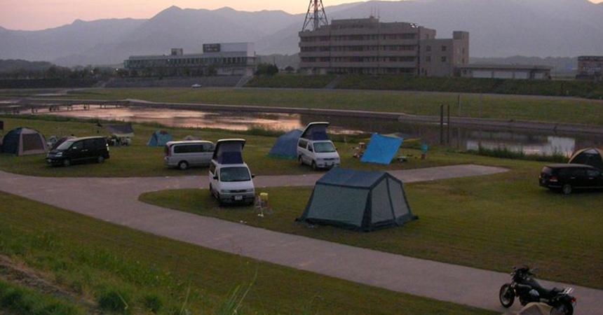 直方オートキャンプ場