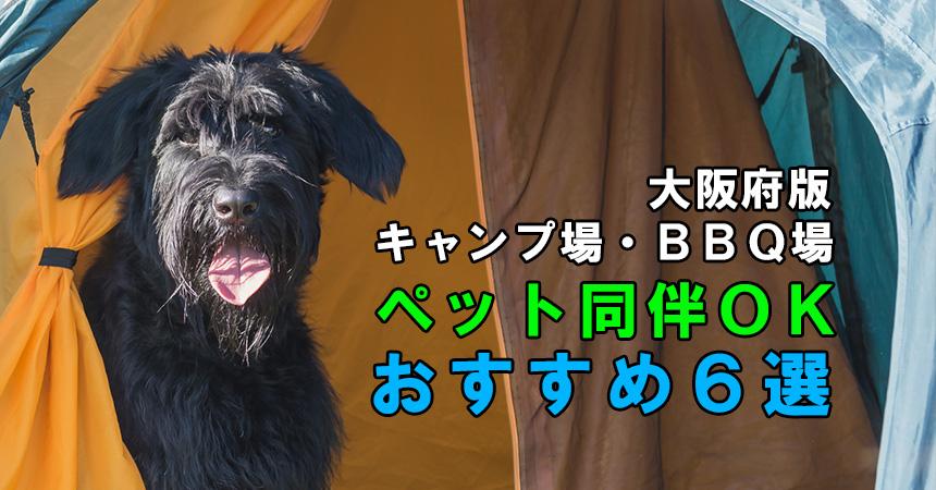 【ペットとキャンプ・BBQ:大阪府版】ペット同伴OKのキャンプ場・BBQ場「おすすめ6選」