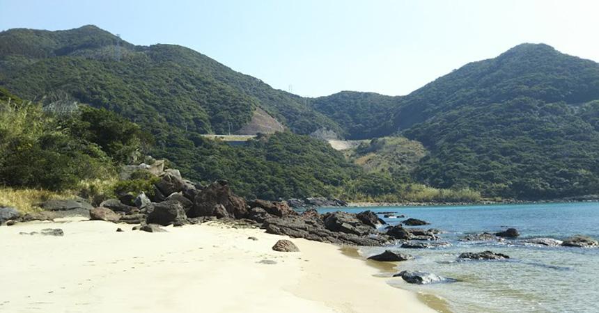 丸木浜海水浴場キャンプ場