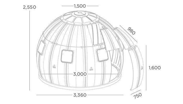 つくり未来のテントDIYプレハブ工法ハウス