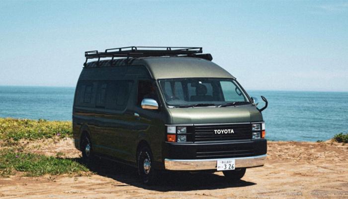 ハイエース-LX1北海道を移動するホテルで巡るキャンプレンタカーサービス開始