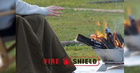 ファイヤーシールド難燃焚火の粉