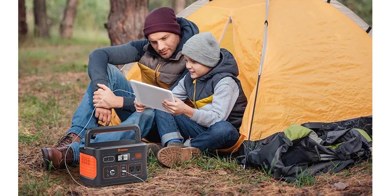 キャンプテントキャンプ用ケンウッドポータブル電源