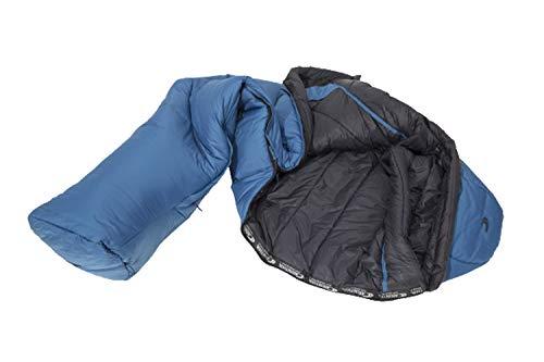 世界の冒険家も愛用しているシュラフ 寝袋 G280 カリンシア Carinthia 冬用 マミー型 登山 キャンプ 左開き, M
