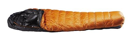 イスカ(ISUKA) 寝袋 エア 630EX ゴールド 最低使用温度-15度 シェラフ 寝袋 スリーピーバック