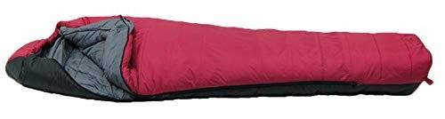 イスカ ISUKA アルファライト1000EX マルベリー 最低使用温度-12度 125723 レッド 最大長:84肩幅×211全長cm 収納サイズ: φ25.5×40cm 寝袋 シェラフ スリーピーバック