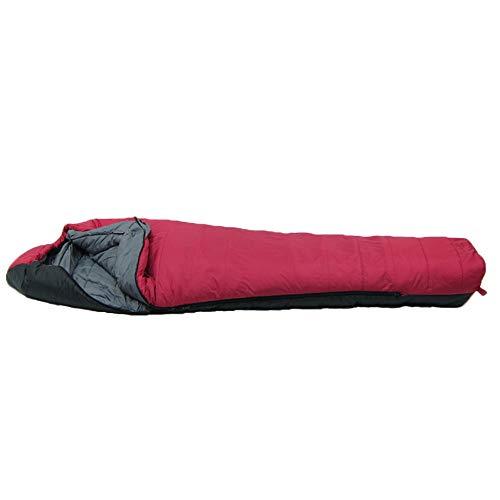 イスカ(ISUKA) アルファライト1000EX マルベリー [最低使用温度-12度] 125723 レッド 最大長:84(肩幅)×211(全長)cm 収納サイズ: φ25.5×40cm シェラフ 寝袋