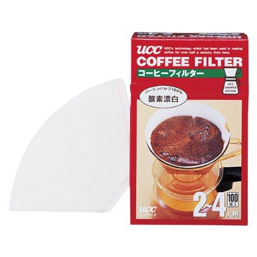 UCC コーヒーフィルター (2-4人用) 100枚入