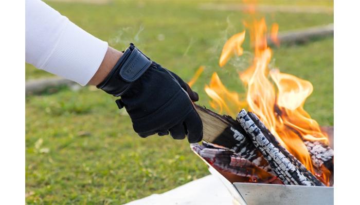 FIRE-SHIELDグローブアラミドファイヤーシールド難燃焚火の粉