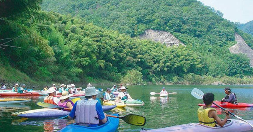 カヌーの里おおちオートキャンプ場(島根県)