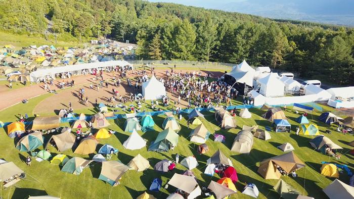フェスキャンプ子供も楽しいキャンプフェスTHECAMPBOOK2020