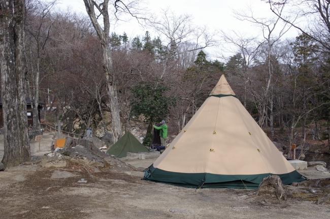 台風19号被害から不動尊公園キャンプ場再開1