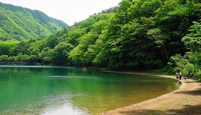夏四尾連湖ゆるキャン聖地温泉総選挙パワースポットランキング