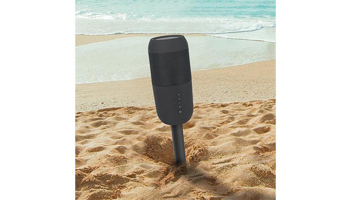 海浜辺アウトドア特化の個性派スピーカー現る