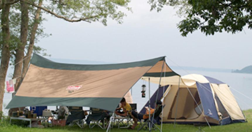 三沢市小川原湖畔キャンプ場