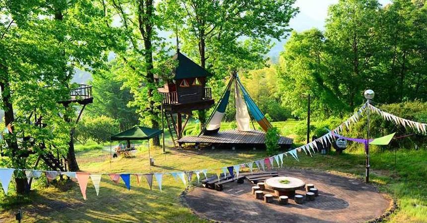 バルンバルンの森(洞門キャンプ場)(大分)
