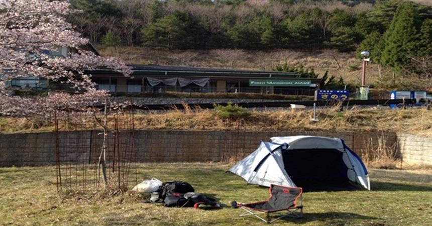 馬場山キャンプ場