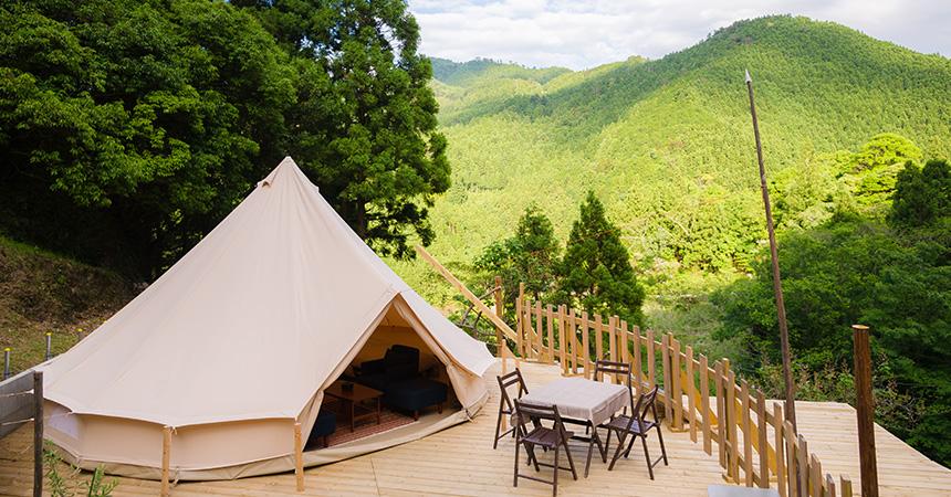 グランピング Base Camp(ベースキャンプ)(徳島)