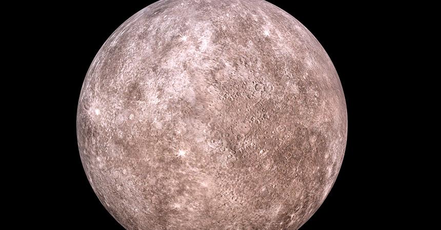 水星 キャンプで天体観測