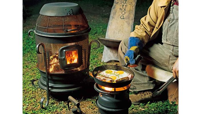 ガーデンストーブ薪ストーブを作ってみよう