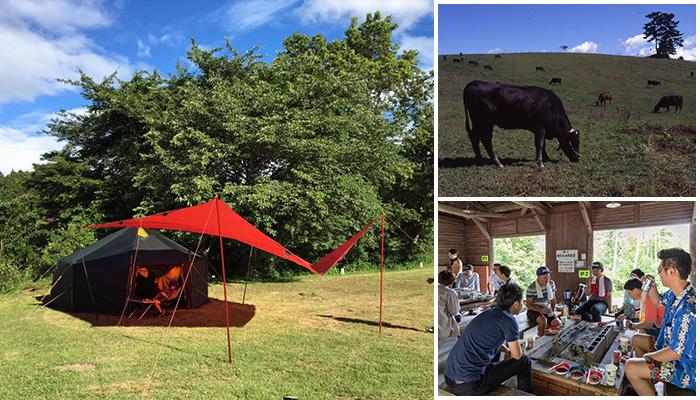 三河高原キャンプ村キャンプ10%OFFもとよたびスタンプラリー開催