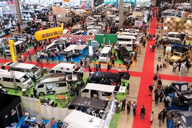 去年の様子遊べる国内最大級ジャパンキャンピングカーショー2020開催
