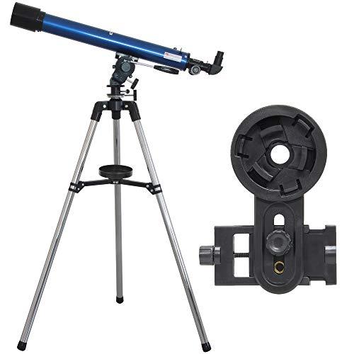 池田レンズ工業 天体望遠鏡 リゲル60 スマホ撮影セット 屈折式 口径60mm 焦点距離700mm 天体観測 キャンプ