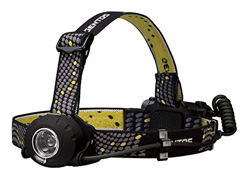 GENTOS(ジェントス) LED ヘッドライト 【明るさ300ルーメン/実用点灯8時間/後部認識灯】 単3形電池3本使用 ヘッドウォーズ HW-000X ANSI規格準拠 天体観測 キャンプ