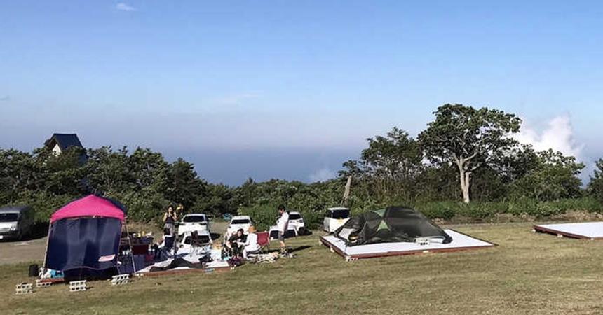 くもわくテラス 天空キャンプ
