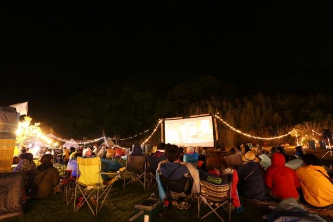 シネマイベントGWは無人島でキャンプしないシネマフェス開催決定