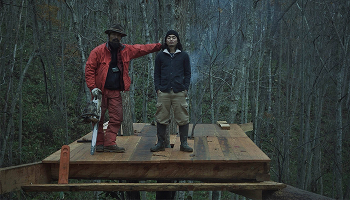 outwoods層雲峡オートキャンプ場ツリーハウスを作って宿泊できるプロジェクト始動