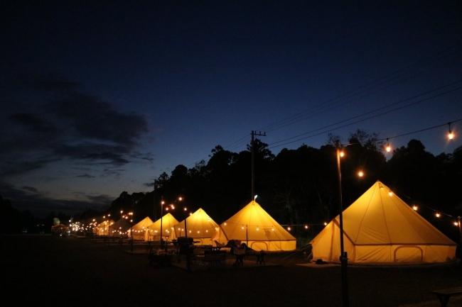 キャンプサイト千葉グランピング「BUB RESORT」キャンプサイト&子供の宿泊受け入れ開始